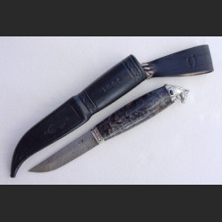 Black horse knife with...
